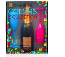 KIT CHANDON BRUT BRANCA 750 ML COM 2 TAÇAS